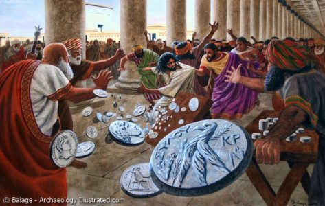 Jesus and the Moneychangers1