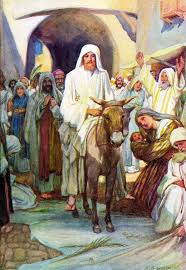 Jesus and His Triumphal Entry