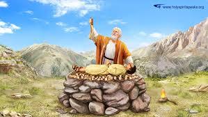 Abraham Prepared to Sacrifice Isaac - 1