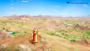Abraham talks to God