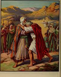 Jacob Met Esau