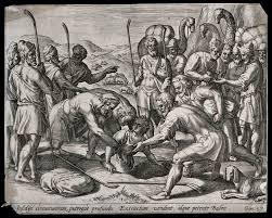 Joseph in a pit