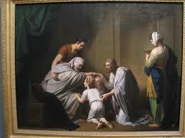 Joseph and children