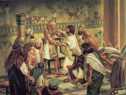 Joseph's brothers in Egypt