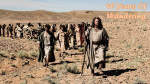 Israelites in the Wilderness