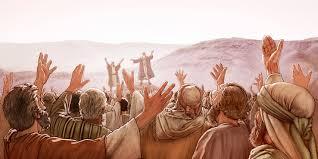 Israelites Pray for God's Help