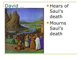 David Learns of Saul's Death