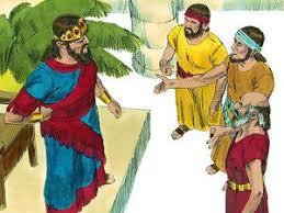 Ziphites Go To Saul