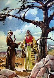 Ahijah and Jeroboam