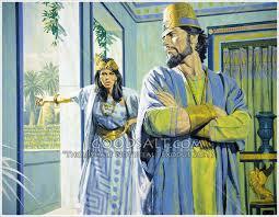 Ahab, Jezebel and the Vineyard