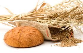 barley bread and grain