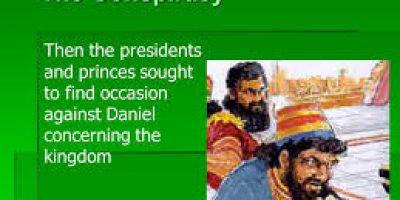 Conspiracy Against Daniel