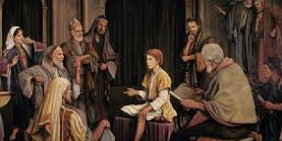 Jesus Amazes Temple Scholars at Age 12