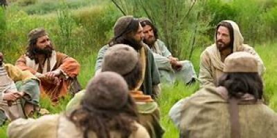 Jesus and the Disciples Discuss Food