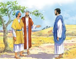 Jesus greeted Nathanael