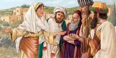 The Samaritan Woman on a Mission