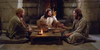 Jesus on the Road to Emmaus-1