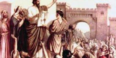Peter's Sermon at Pentecost