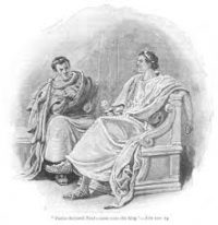 Conversation Between Festus and King Agrippa
