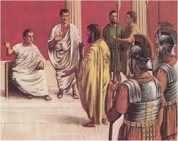 Paul On Trial Before Governor Festus